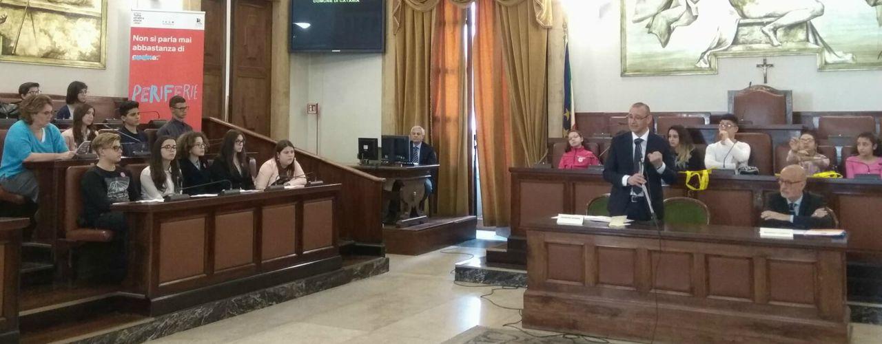 Immagine A Catania gli studenti si raccontano
