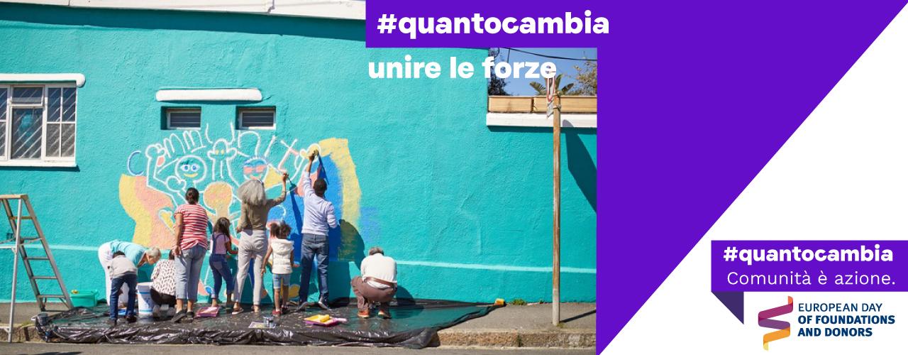 Immagine #Quantocambia: 1 ottobre Giornata europea delle fondazioni